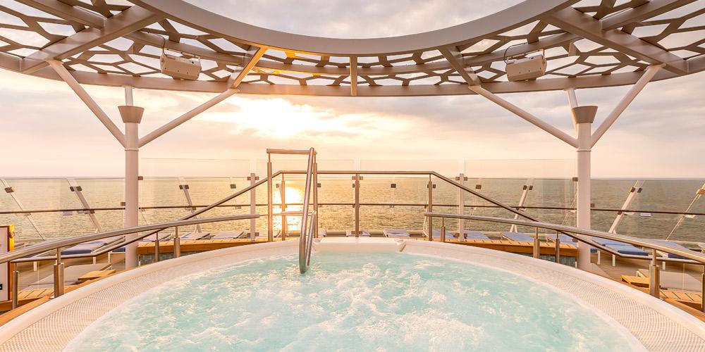 Whirlpool an Deck
