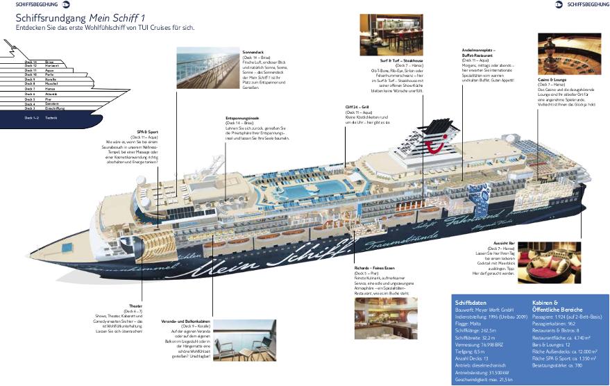 Schiffrundgang Mein Schiff 1